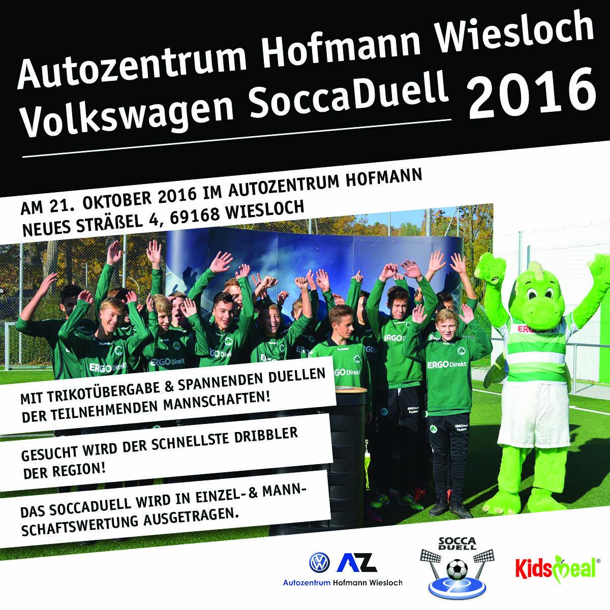 Volkswagen SoccaDuell-Meisterschaft Wiesloch 2016!